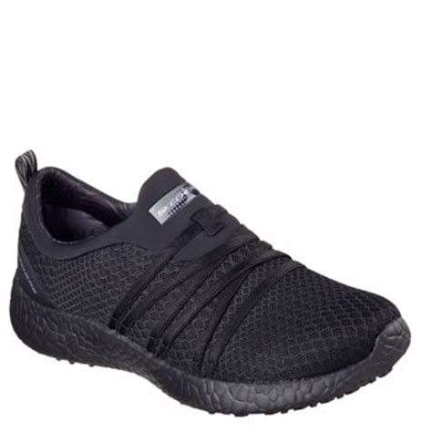 Sepatu Skechers Air Cooled Memory Foam skechers burst with air cooled memory foam bbk black
