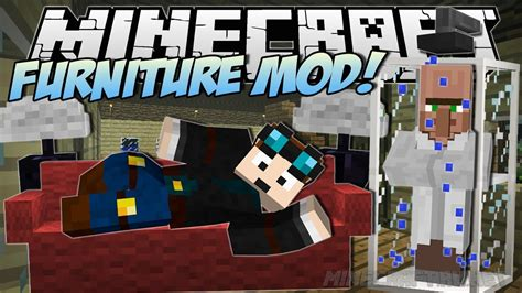 Minecraft The Furniture Mod by Furniture Mod V 4 0 1 1 8 9 Mods Mc Pc Net