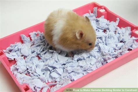best hamster bedding how to make hamster bedding similar to carefresh 6 steps