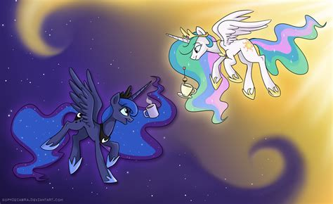 painting mlp mlp cup princesses by sophiecabra on deviantart