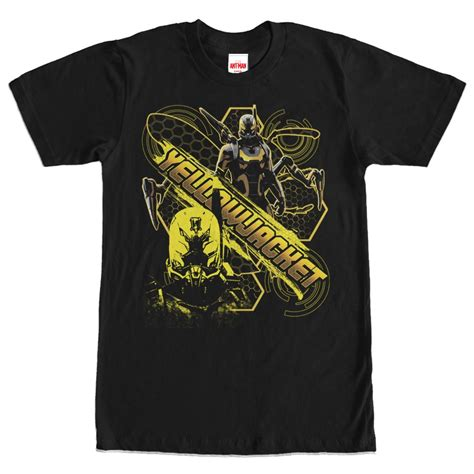 t shirt antman ant yellowjacket with name t shirt