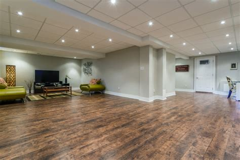 basement wood floor top tile options for basement flooring floor coverings