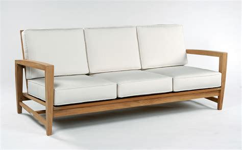 outdoor patio sofas patio sofa napa teak