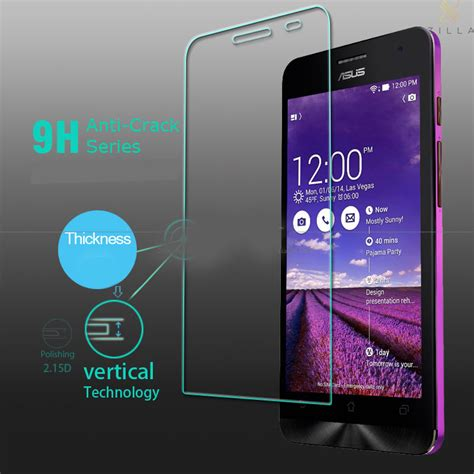 Tempered Glass Asus Go B 4 5 Anti Gores Kaca Oleophobic Coating 2 5 zilla 2 5d tempered glass curved edge 9h 0 26mm for asus zenfone 4s jakartanotebook