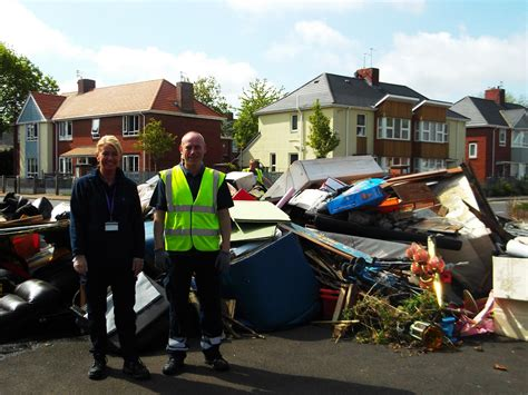 community clean up slatyford your homes newcastle