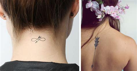 imagenes tatuajes mujeres delicados 25 tatuajes de flechas para chicas que inician otra etapa