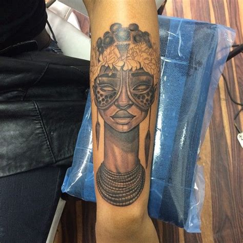 african mask tattoo designs 36 best ancient tattoos images on