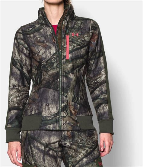 mossy oak womens jacket women s ayton fleece jacket armour us