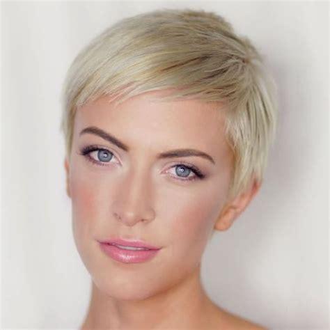 cute short blonde haircuts age 45 60 cute short pixie haircuts femininity and practicality