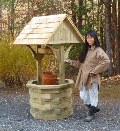 How To Build A Wishing Well Planter by Woodworking Plans 6 Ft Wishing Well Illustrated With