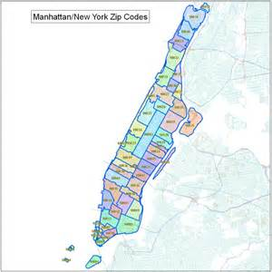 New York Area Codes Map by Manhattan Ny Zip Codes Images