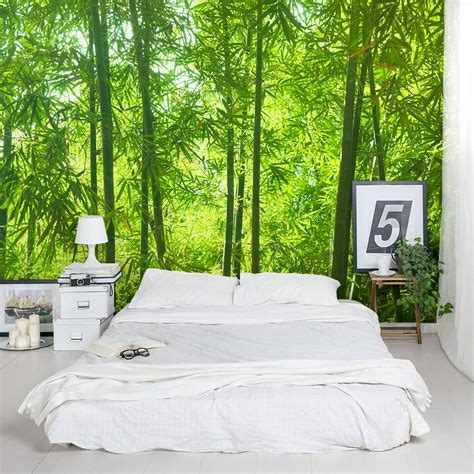 murals for bedrooms bamboo wall mural forest wallpaper mural wallums