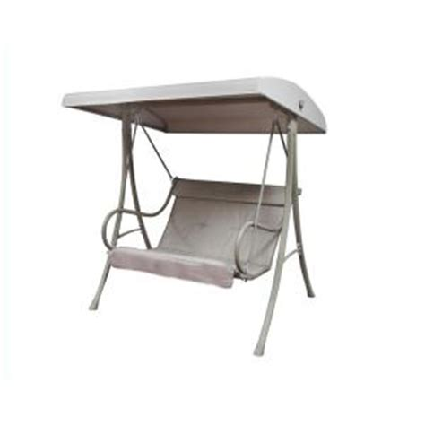 canopy swings home depot 2 person patio swing s010114 the home depot