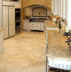 Travertine Kitchen Floor Travertine Portfolio Fox Marble