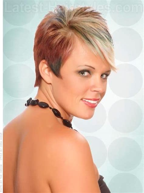 short pixie haircuts with feathered sides 35 fool proof hairstyles for straight hair