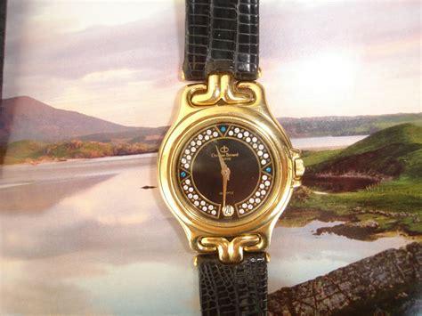 vintage watches christian bernard 18k goldplated rm190