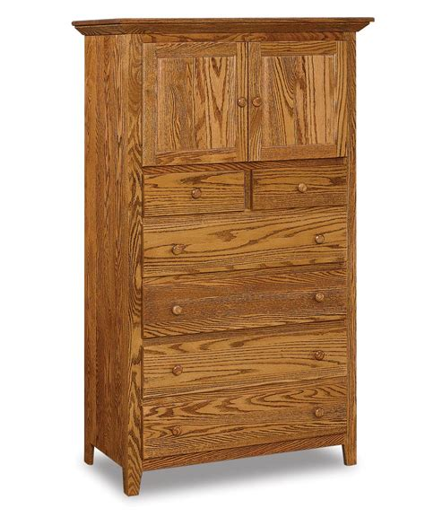 shaker chest armoire amish direct furniture