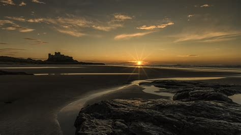 Sea Sunset Hd Wallpaper Download