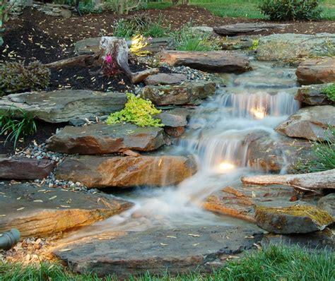 backyard pondless waterfalls serenity of pondless waterfalls colorado springs