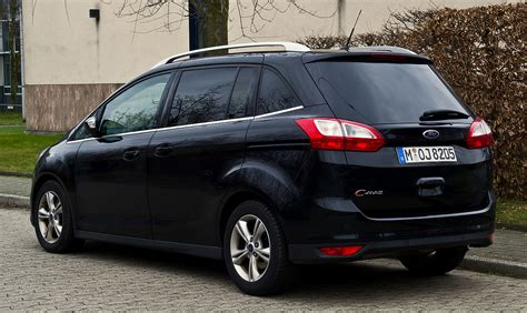 Ford Grand C Max Abmessungen by File Ford Grand C Max Chions Edition Ii Heckansicht