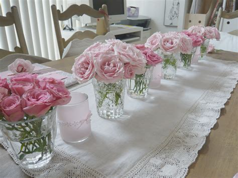 pink centerpieces pretty pink details the sweetest occasion