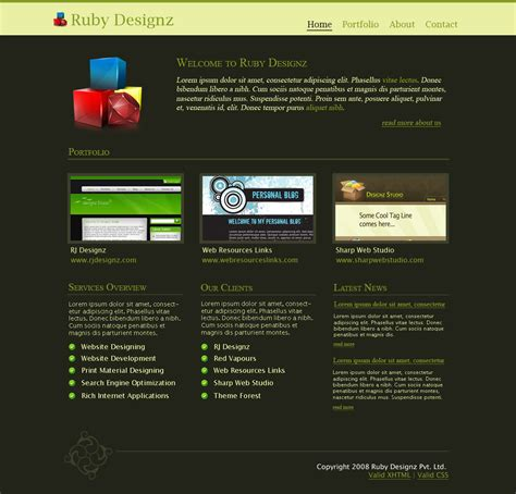 nice ruby template images gt gt ruby on rails themes
