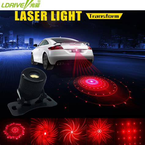 Laser Fog Light 1 anti collision rear end car laser led car fog light