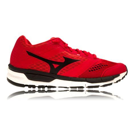 mizuno sports shoes mizuno synchro mx mens black running road sports shoes
