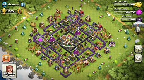 clash of clans town hall clash of clans tips town hall level 8 layouts part 2