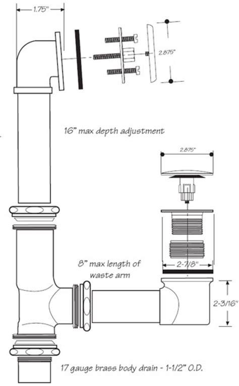 bathtub drain assembly diagram best tub drain diagram images the best bathroom ideas
