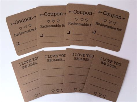 21 love coupon templates free sle exle format