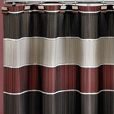 shower curtain burgundy popular home the modern line collection fabric shower