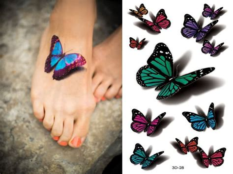 colorful butterfly tattoo designs 85 3d butterfly tattoos
