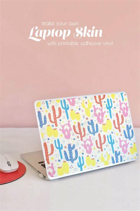diy printable vinyl how to make a diy laptop skin with printable vinyl