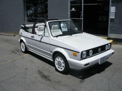 1992 Volkswagen Cabriolet For Sale by 1992 Volkswagen Cabriolet Boone Nc