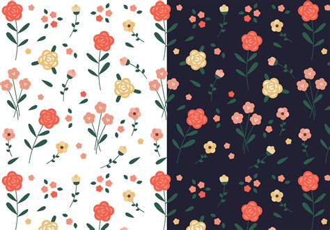 Floral Seamless seamless floral pattern free vector easy to