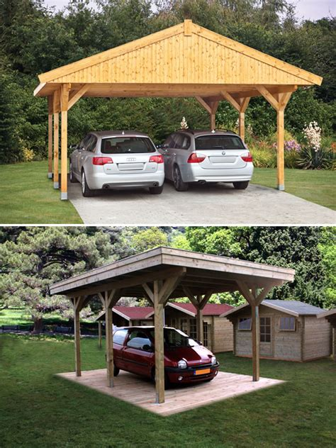 Bespoke Carports bespoke log cabin carports and gazebos