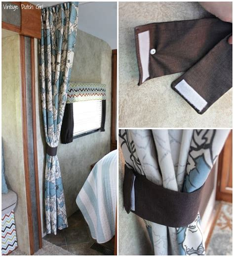 curtains for travel trailers 1000 ideas about rv curtains on pinterest rv interior