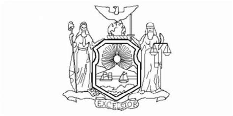 new york state flag coloring page to print male models