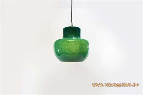 Green Glass Pendant Light Green Glass Pendant L Vintage Info All About Vintage Lighting