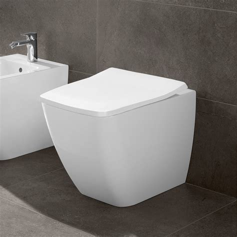 villeroy amp boch venticello rimless back to wall toilet