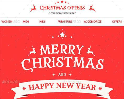 merry email template 24 best email templates creativetemplate