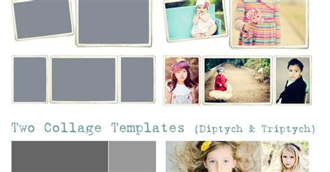 Free Facebook Timeline Cover Templates Vintage Frames Diptych Triptych From Triptych Photoshop Template