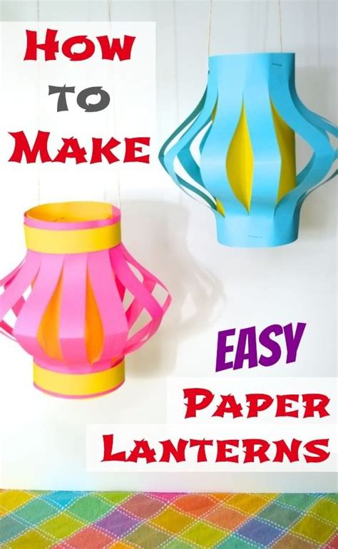 how to make your own paper lanterns 28 images how to