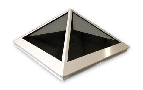 Barn Roof Pyramid Skylight White