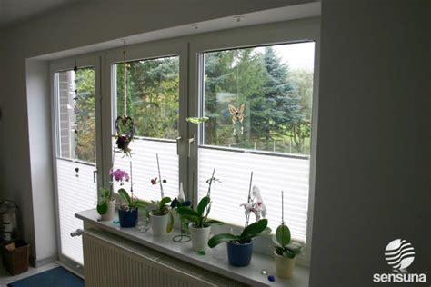 Sichtschutz Fenster Plissee by Sichtschutz Plissee F 252 R Fenster Und T 252 Ren Balkon Balkon
