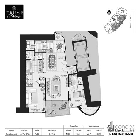 trump palace floor plans trump palace unit 805 condo for rent in sunny isles beach