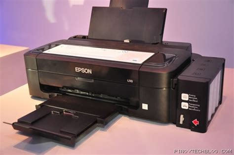 Printer Epson Epson L110 epson launches new l series ink tank system printers