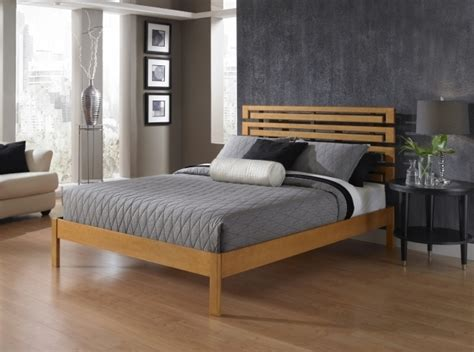 California Cheap King Size Platform Bed Tufted Wood Bed Cheap California King Bed Frame