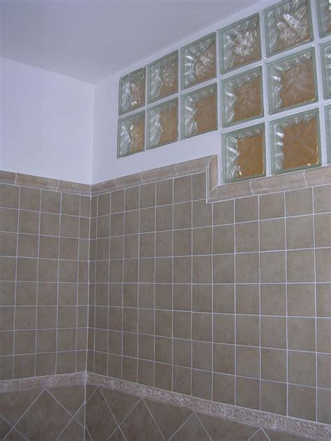 doccia con vetrocemento foto bagno cieco con vetrocemento di frigerio